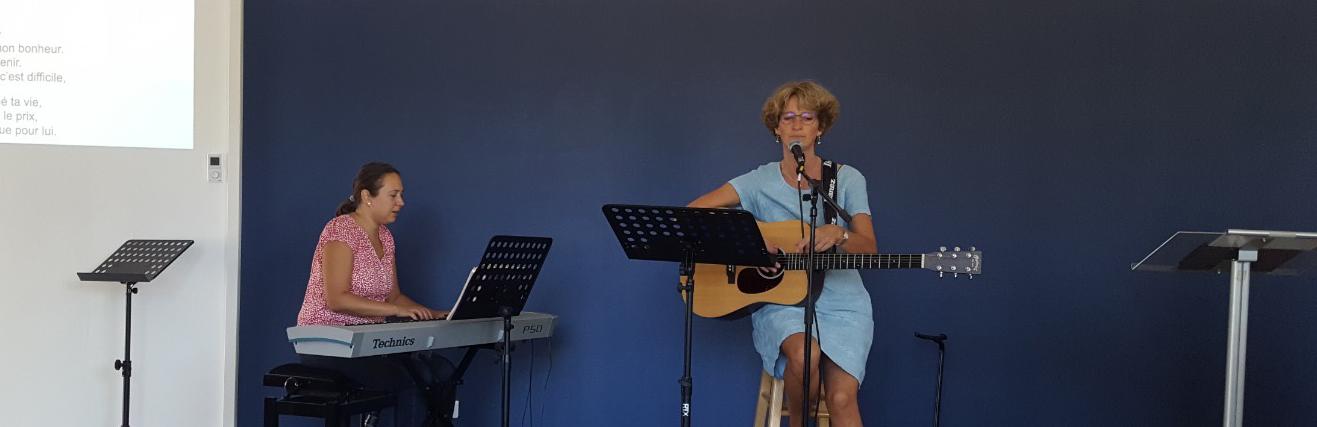 Chant pendant le Culte